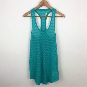 Roxy Teal Swimsuit Coverup Dress